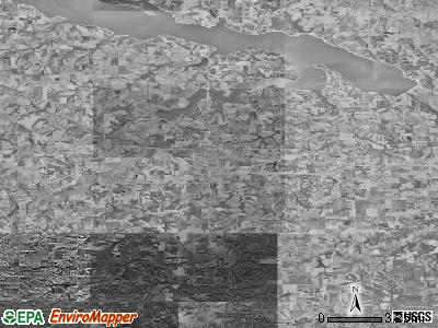Zip code 50138 satellite photo by USGS