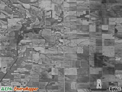 Zip code 50148 satellite photo by USGS