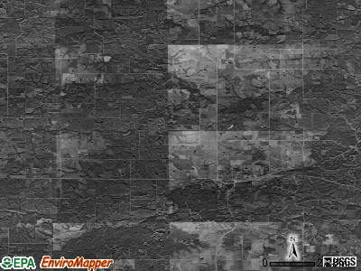 Zip code 50151 satellite photo by USGS