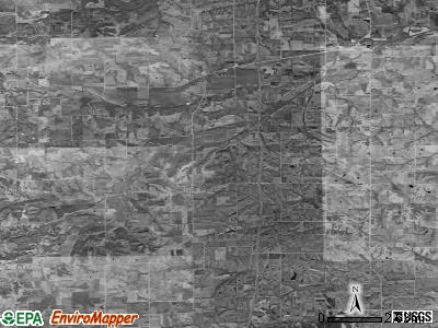 Zip code 50238 satellite photo by USGS