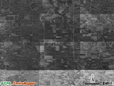 Zip code 50248 satellite photo by USGS