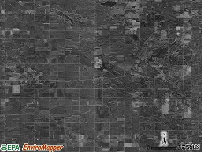 Zip code 50423 satellite photo by USGS