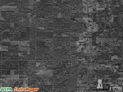 Zip code 50453 satellite photo by USGS