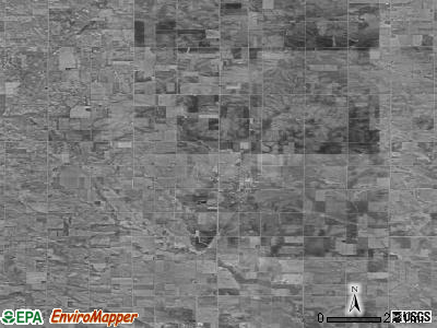 Zip code 50469 satellite photo by USGS
