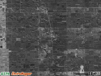 Zip code 50533 satellite photo by USGS