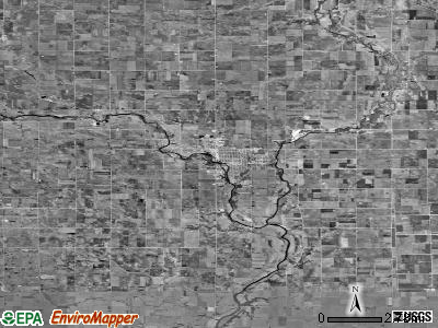 Zip code 50548 satellite photo by USGS