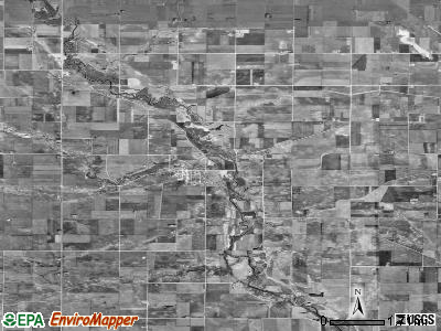 Zip code 50558 satellite photo by USGS