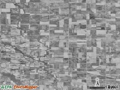 Zip code 50611 satellite photo by USGS