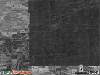 Zip code 50643 satellite photo by USGS