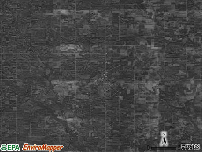 Zip code 50659 satellite photo by USGS