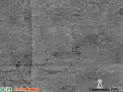 Zip code 50861 satellite photo by USGS