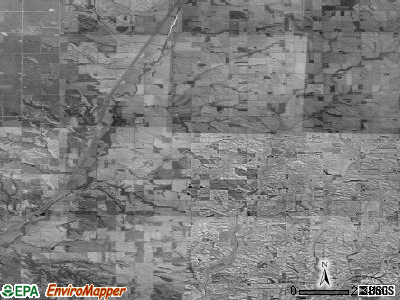 Zip code 51024 satellite photo by USGS