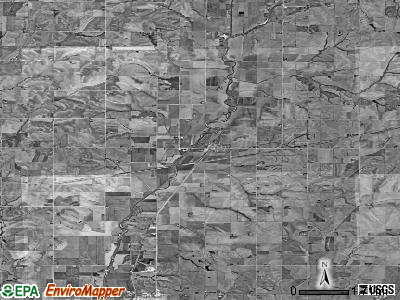 Zip code 51536 satellite photo by USGS