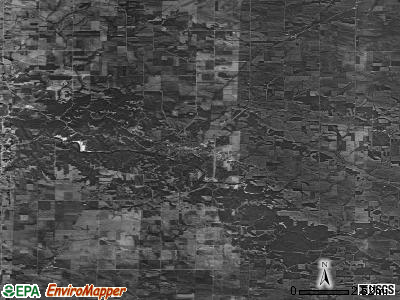 Zip code 52205 satellite photo by USGS
