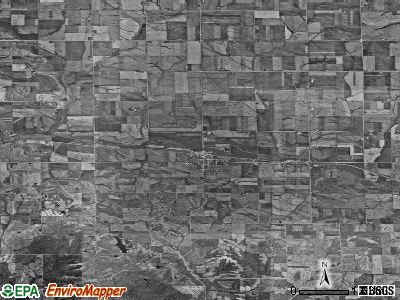 Zip code 52209 satellite photo by USGS