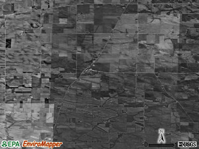 Zip code 52305 satellite photo by USGS
