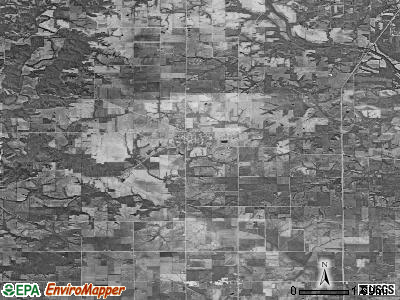 Zip code 52649 satellite photo by USGS