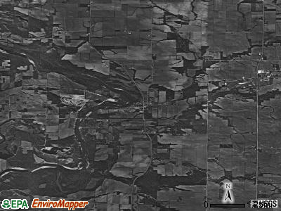 Zip code 52760 satellite photo by USGS
