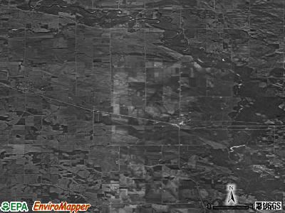 Zip code 52777 satellite photo by USGS