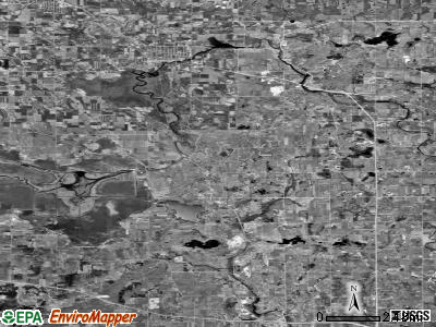 Zip code 53020 satellite photo by USGS