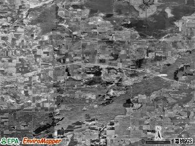 Zip code 53023 satellite photo by USGS
