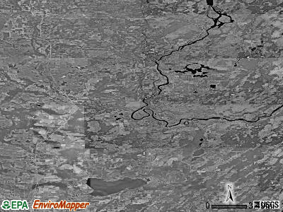 Zip code 54177 satellite photo by USGS