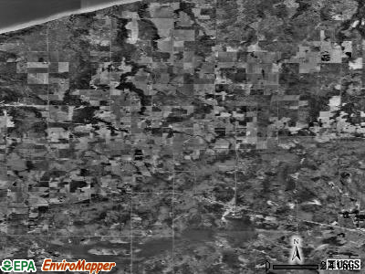 Zip code 54854 satellite photo by USGS