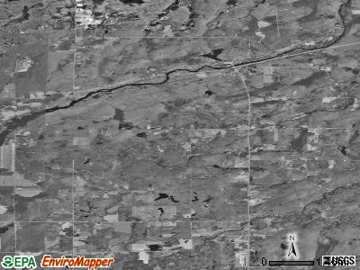 Zip code 54862 satellite photo by USGS