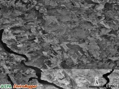 Zip code 06752 satellite photo by USGS