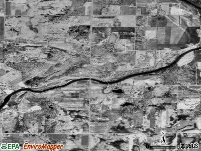 Zip code 55341 satellite photo by USGS