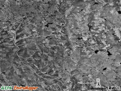 Zip code 06791 satellite photo by USGS