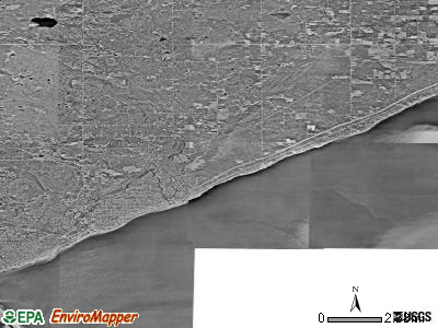 Zip code 55804 satellite photo by USGS