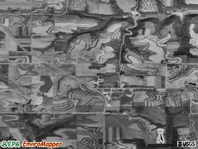 Zip code 55931 satellite photo by USGS