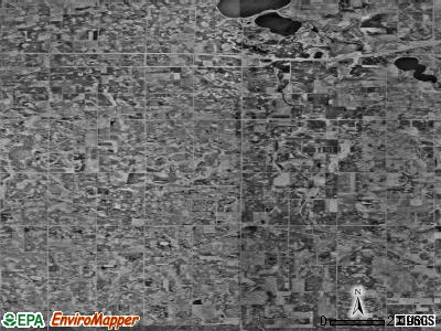 Zip code 56014 satellite photo by USGS