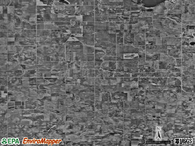 Zip code 56025 satellite photo by USGS