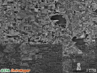 Zip code 56029 satellite photo by USGS