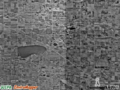 Zip code 56068 satellite photo by USGS