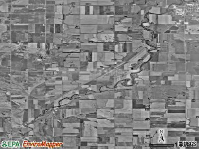 Zip code 57024 satellite photo by USGS