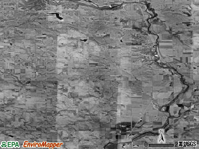 Zip code 57034 satellite photo by USGS