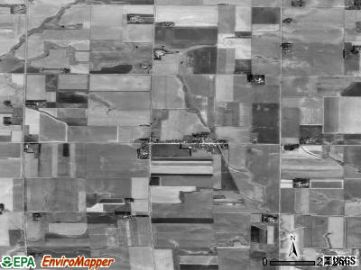 Zip code 57072 satellite photo by USGS