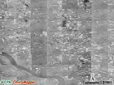 Zip code 57369 satellite photo by USGS