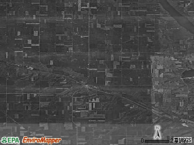 Zip code 58725 satellite photo by USGS