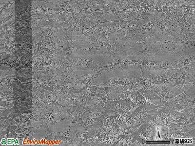 Zip code 59047 satellite photo by USGS