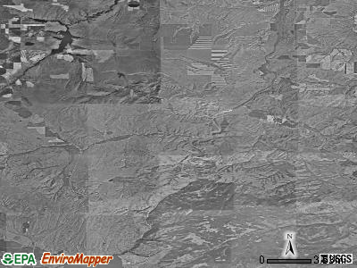 Zip code 59745 satellite photo by USGS