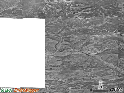 Zip code 59802 satellite photo by USGS