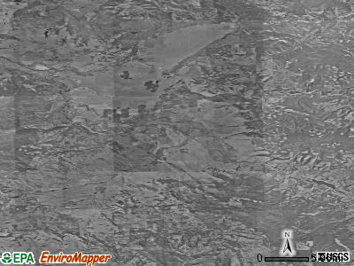 Zip code 59843 satellite photo by USGS