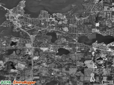 Zip code 60041 satellite photo by USGS