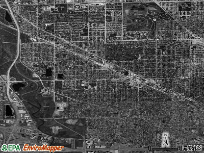 Zip code 60068 satellite photo by USGS