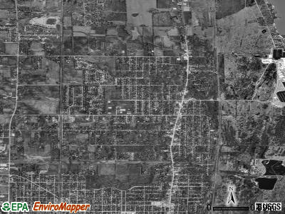 Zip code 60096 satellite photo by USGS