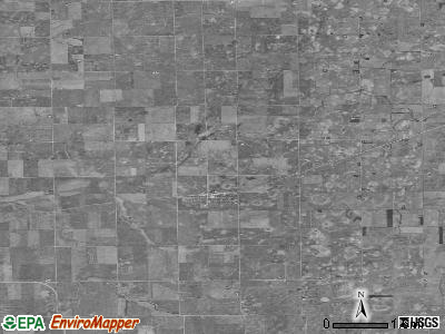 Zip code 60470 satellite photo by USGS